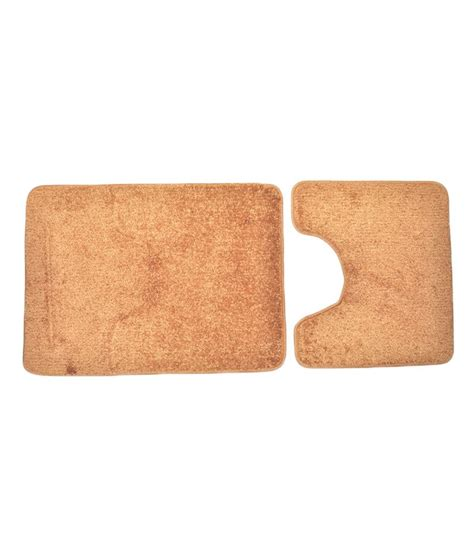 Polypropylene Mat by Obsessions Brown Polypropylene Bath Mat Buy Obsessions