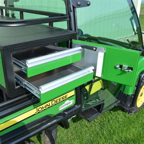 Deere Cabinet by 12 Quot High Crossover Cabinet W Drawers For Deere Gator