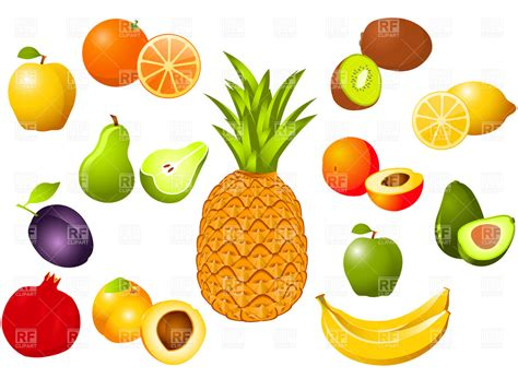 fruit free fruit vector cliparts co