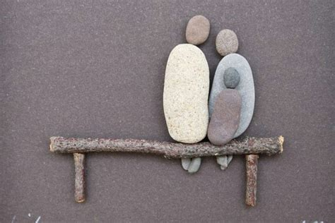 pebble art fishing boat 17 best images about pebble rock art on pinterest