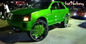 Truck Rims Orlando Fl Green Fleet Of Donks At Florida Classic Car Show In
