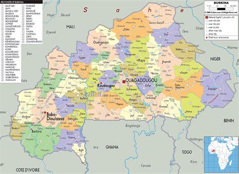 political map of nigeria ezilon maps burkina faso junglekey fr image