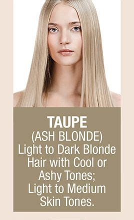 taupe hair color taupe ash light to hair with cool
