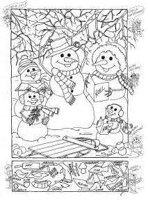 christmas hidden picture printables search results
