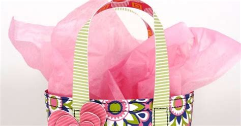 popper and mimi mini summer tote gift bag tutorial