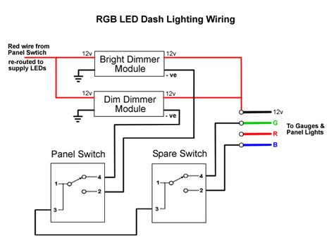 rapid dimable led wire diagram