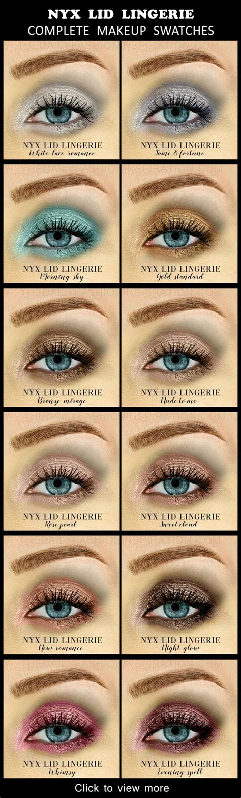 tutorial eyeshadow nyx best ideas for makeup tutorials view all 12 swatches for