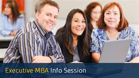 Session Start Of Mba Colleges by Executive Mba Information Session Drexel Lebow