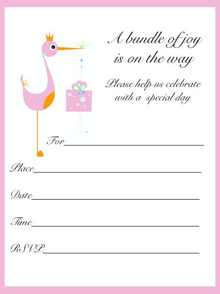 baby shower invitations templates for a girl baby girl shower invitations template best template
