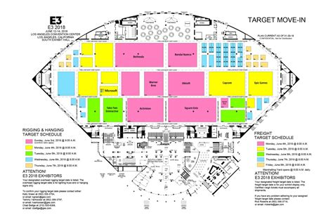 aaron greenberg leaked e3 2018 floor map is xbox