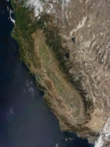 satellite map california nasa visible earth california