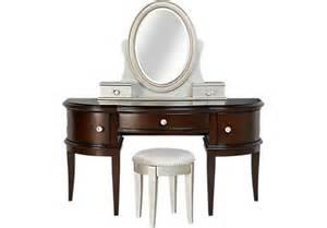 Vanity Set Rooms To Go Court Vanity Desk Mirror And Stool Set Accent Items