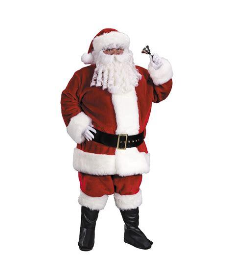 large santa suit santa suit prem plush large costume
