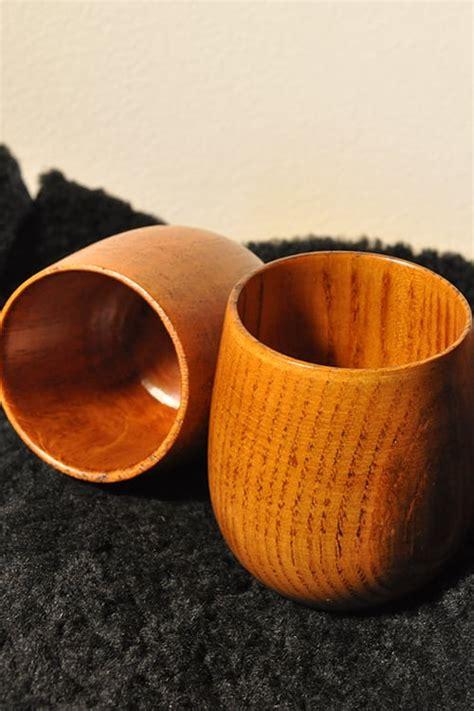 bicchieri in legno bicchiere in legno larp store
