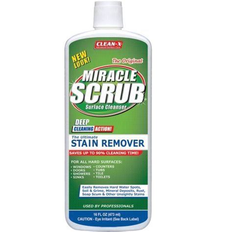 Unelko Glass Scrub miracle scrub 174 stain remover by unelko 7 99 for glass porcelain ceramic and other