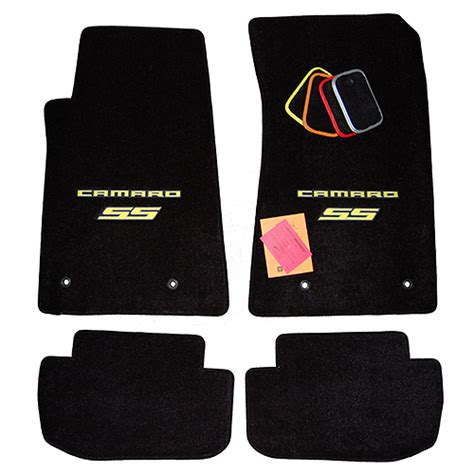 Chevy Camaro Floor Mats by Chevrolet Camaro Ss Floor Mats Yellow Logo Trim