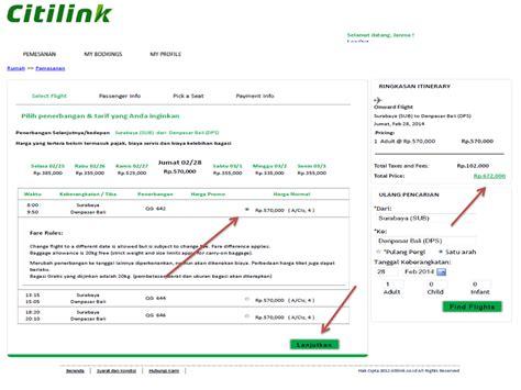 citilink customer service pt janma wisata indonesia panduan booking citilink di pt