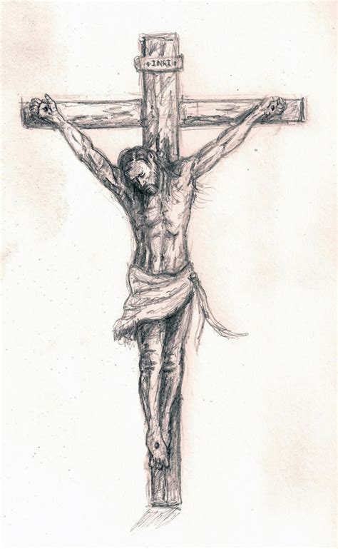 Pencil Drawings Of Jesus On The Cross Drawing Pencil Drawing Of Jesus On The Cross 2