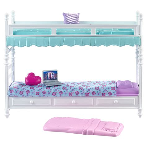 barbie doll beds barbie sisters stacie doll with bunk beds giftset barbie