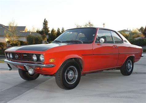 1972 opel manta mini 1972 opel manta rallye bring a trailer