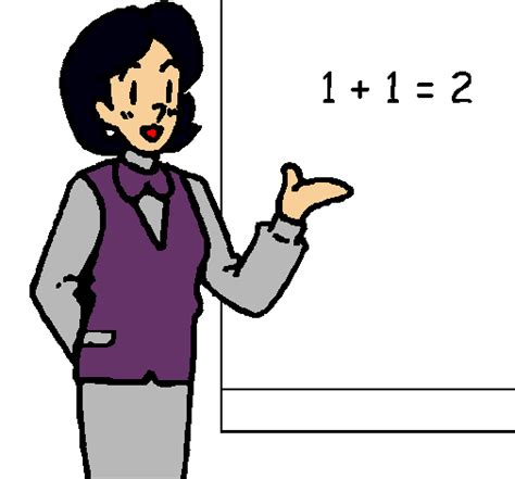 imagenes en ingles teacher dibujo de maestra para colorear dibujosnet