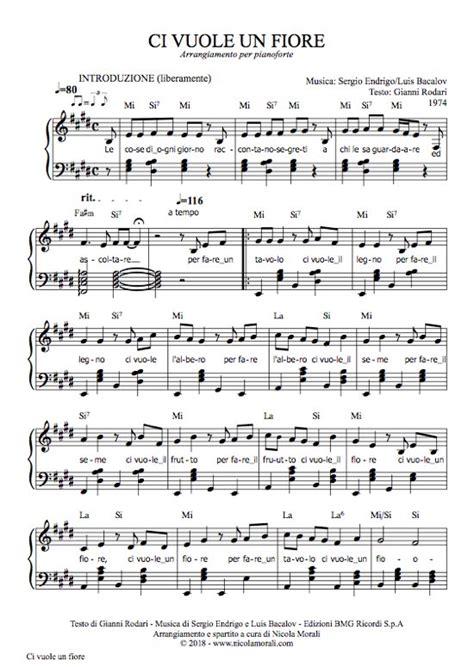 per fare un tavolo canzone ci vuole un fiore di gianni rodari cantata da sergio