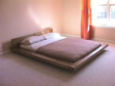 japanese style platform bed things i want to build