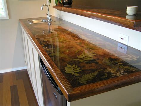 resin table top diy custom resin countertop pinteres