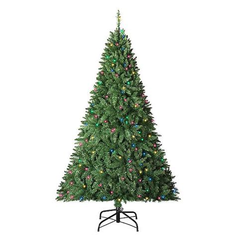 trim a home 6 boulder mountain christmas tree with 300