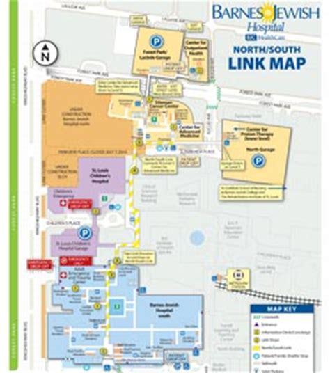 Barnes Hospital Map directions and maps patients visitors barnes hospital