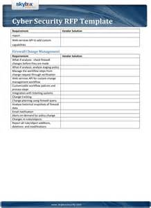pci dss security policy template cyber security rfp template pdf