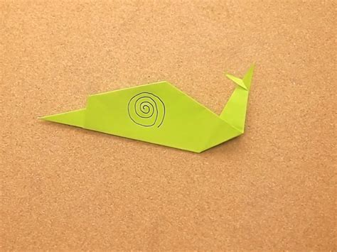 How To Make Origami Snail - how to make origami snail new calendar template site
