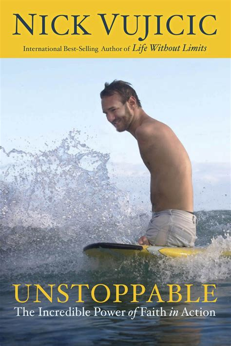 image gallery nick vujicic books new book unstoppable nick vujicic thoughts from a