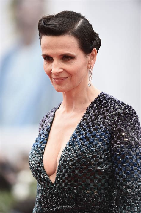 juliette binoche the wait premiere 72nd venice film