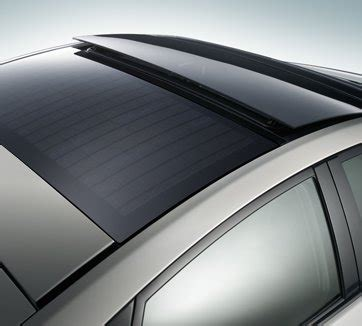 chevy volt solar panel roof on the 2010 prius solar roof gm volt chevy volt