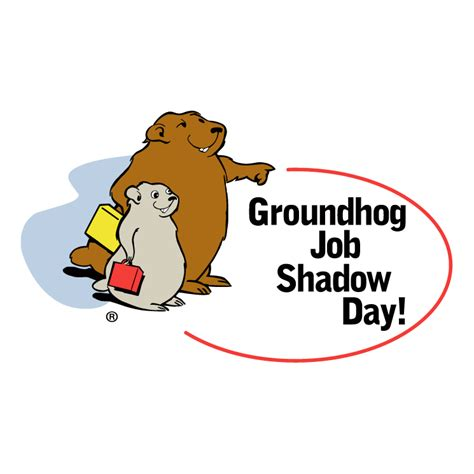 groundhog day shadow groundhog shadow day free vector 4vector
