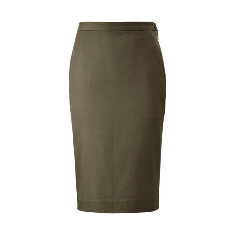 Cotton Pencil Skirt carine cotton pencil skirt uniqlo