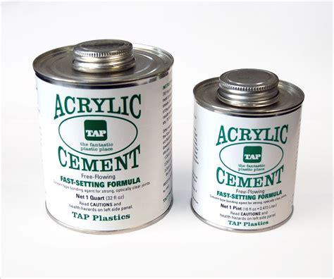 Acrylic Epoxy tap acrylic cement tap plastics