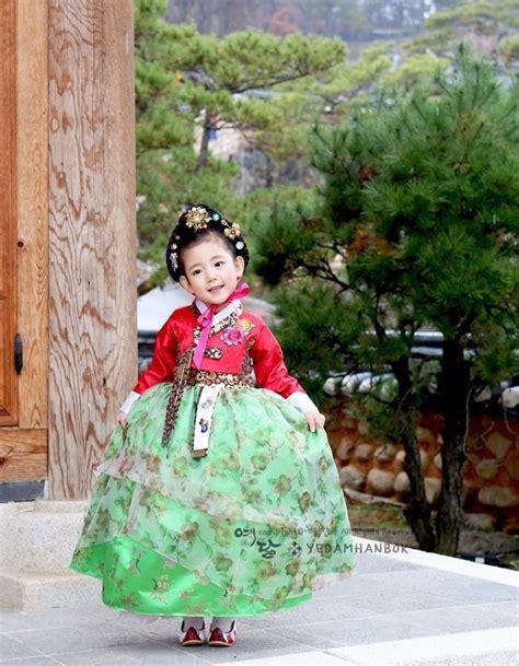 Dress Korea Original 48 17 best images about hanbok korean birthday dol dohl on green