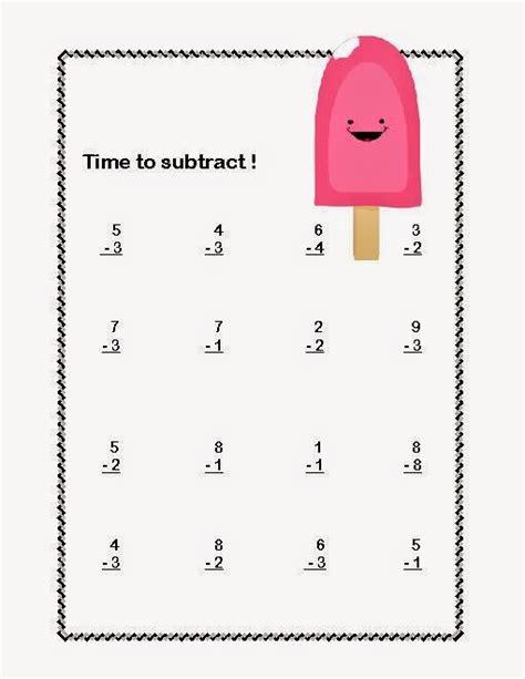 printable worksheets jk subtraction 187 subtraction drill worksheets first grade
