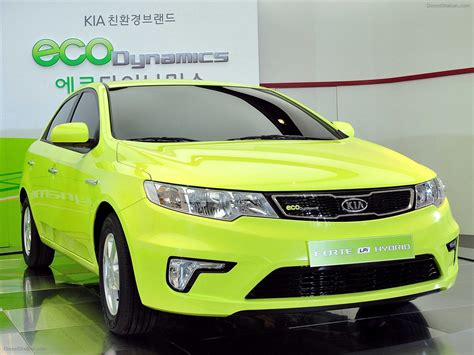 Kia Brands In Car Kia Motors New Hybrid Forte And Eco Dynamics Brand