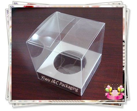 100pcs 7x7cm Mini Clear Cupcake Boxes Wedding Cupcake Box 100 Mini Clear Wedding