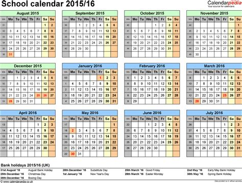 free printable school calendar for 2017 2018 five js homeschool