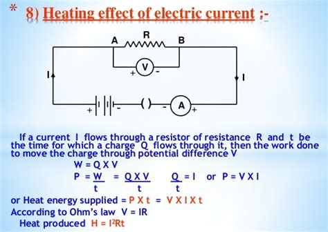 calculate resistor wattage electric power and house hold circuits icse solutions for class 10 physics a plus topper