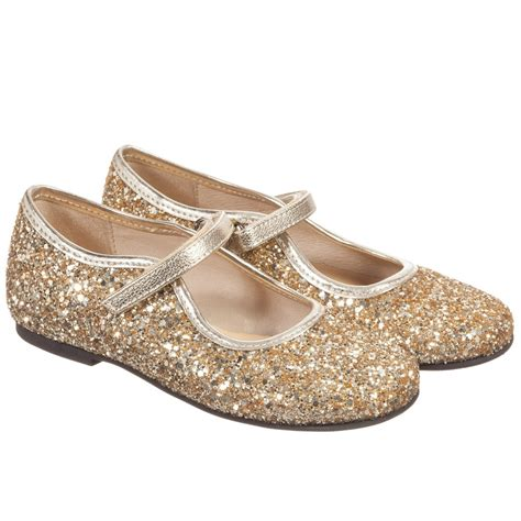 gold glitter shoes for manuela de juan gold glitter leather maryjane