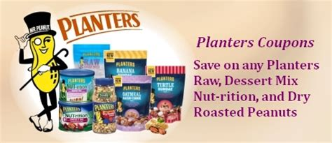 Planters Peanuts Coupons Printable by Planters Coupons Coupon Network