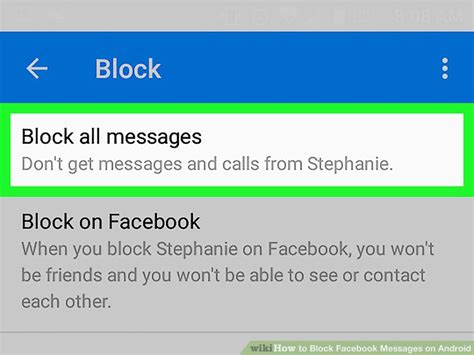 block texts on android how to block messages on android 6 steps with pictures