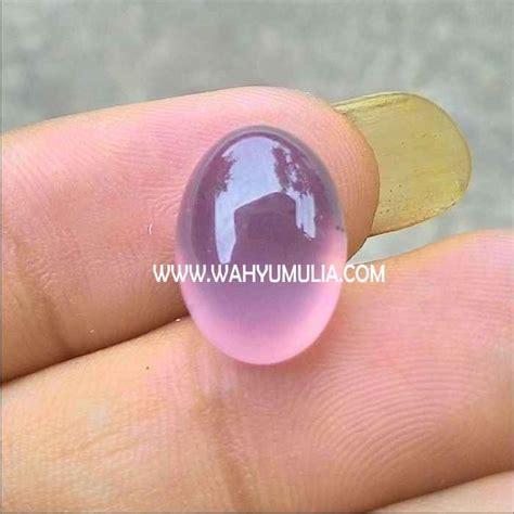 gambar batu akik lavender ungu 1 wahyu mulia