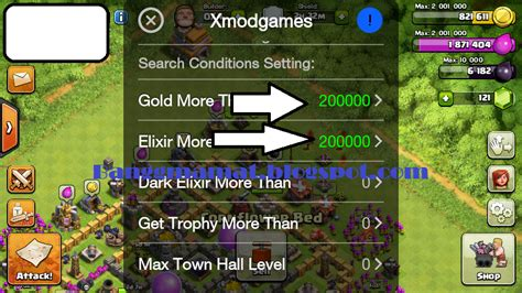 cara mod game coc cara menggunakan cheat game coc menggunakan x mod games