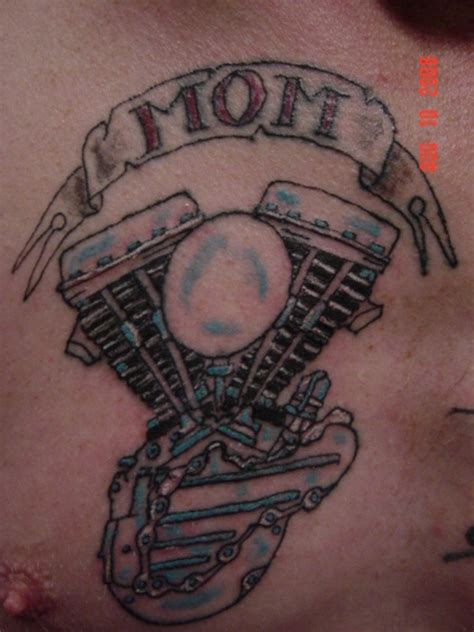 tattoo lettering engine panhead for mom tattoo picture at checkoutmyink com
